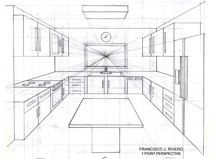 Room perspective grid google search art pinterest - One point perspective drawing living room ...