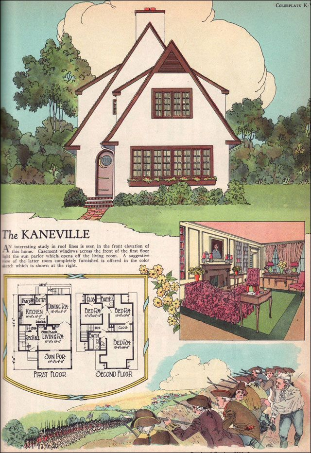 620 best vintage house plans images on pinterest floor for Witches cottage house plans