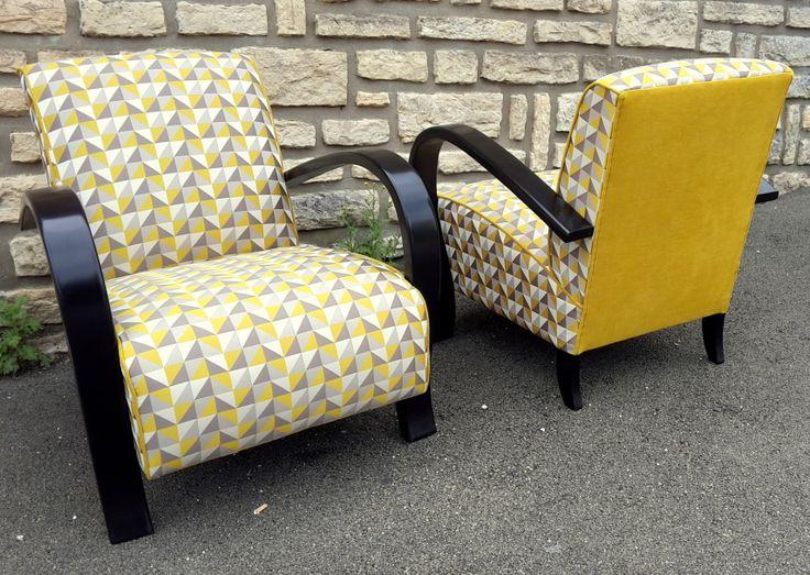 les 57 meilleures images du tableau fauteuil art d co sur pinterest tapissier garnisseur. Black Bedroom Furniture Sets. Home Design Ideas