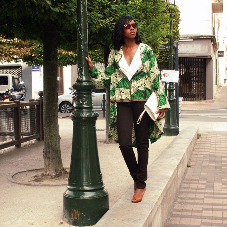 Comment porter le look oversize sans avoir l'air d'un sac? Lisez le suite de l'article sur le blog. En attendant, voici un aperçu d'une de mes créations: Bagna #bejustus #wax #waxoversize