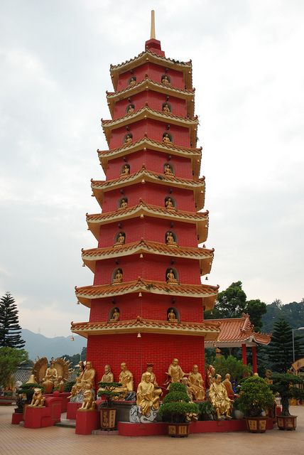 10,000 Buddhas Monastery, - one of the most amazing sites I've ever seen