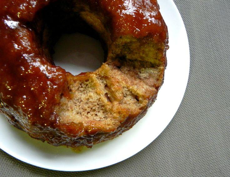 Healthy Monkey Bread with Caramel Sauce @CearasKitchen #vegan