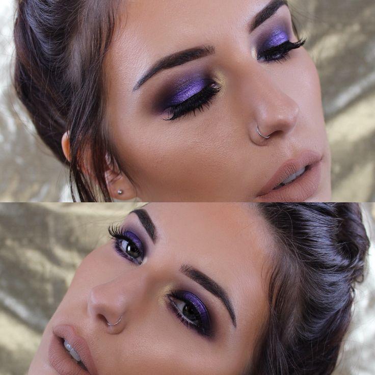 Purple smoke look now on my YouTube channel Mandy-Lee