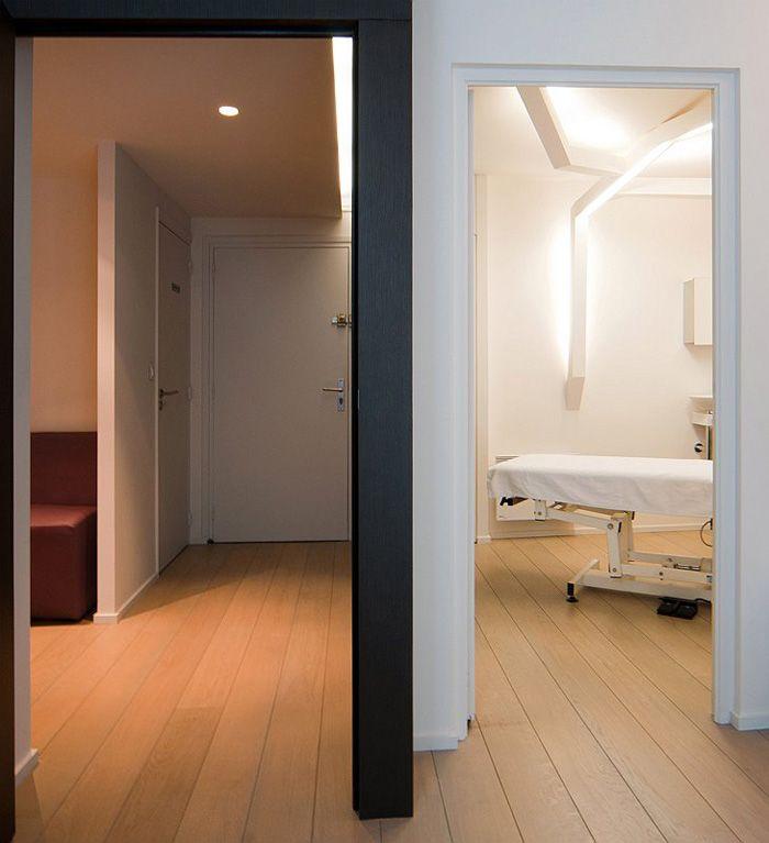 Agencement cabinet médical / Ostéopathie / Acuponcture / Concept bureau / Tertiaire / Design Agence MAYELLE / Photo : ©Pierre Rogeaux