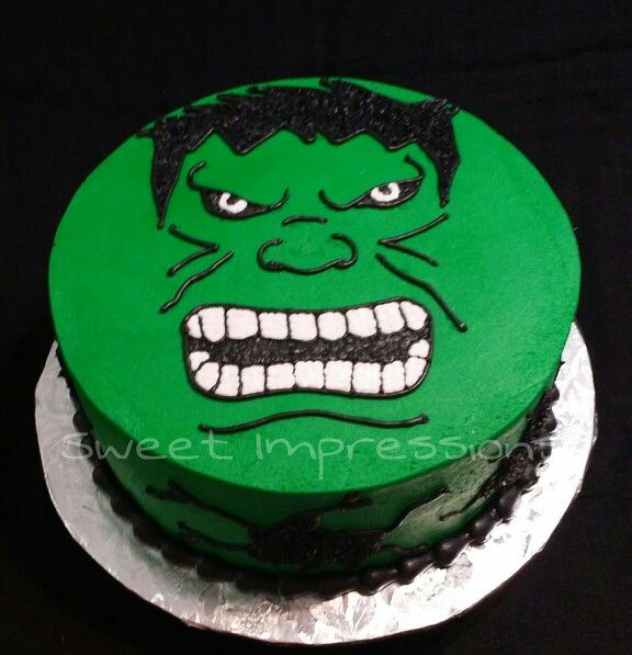 ... hulk birthday cakes on Pinterest  Hulk cakes, Superhero cake and 8th