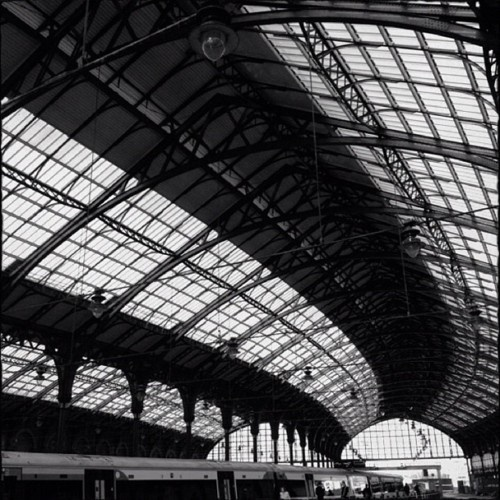 Brighton railway station - you get off the train and can smell/see the sea!!