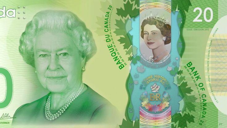 The commemorative $20 note #BankofCanada #BoC #Canada