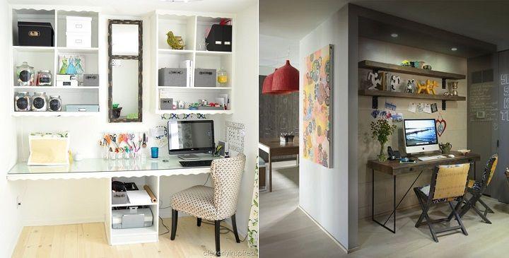 M s de 25 ideas incre bles sobre peque o despacho en - Decorar despacho pequeno ...