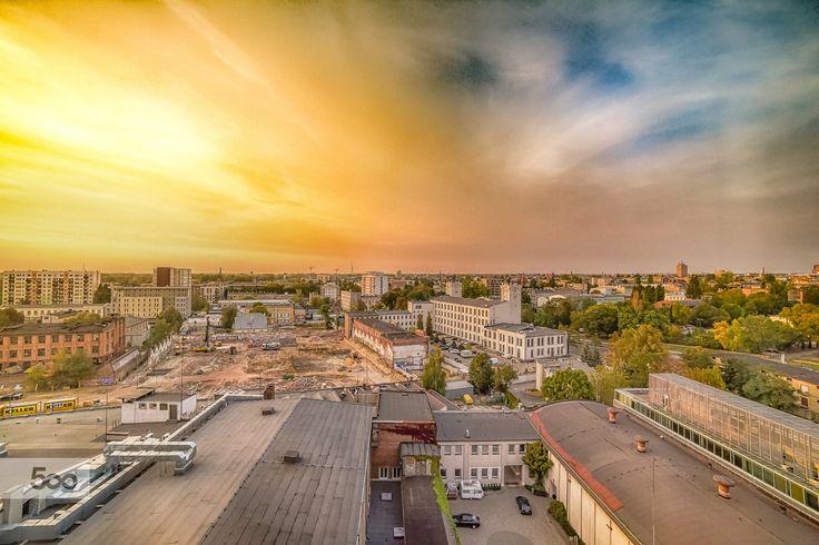#Łódź by Sebastian Rudnicki on 500px