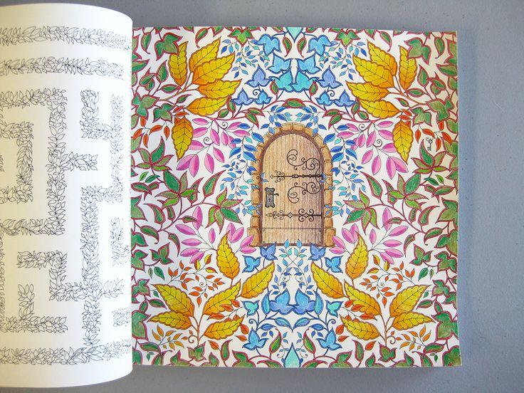 Jungle Passage Secret Garden By Johanna Basford