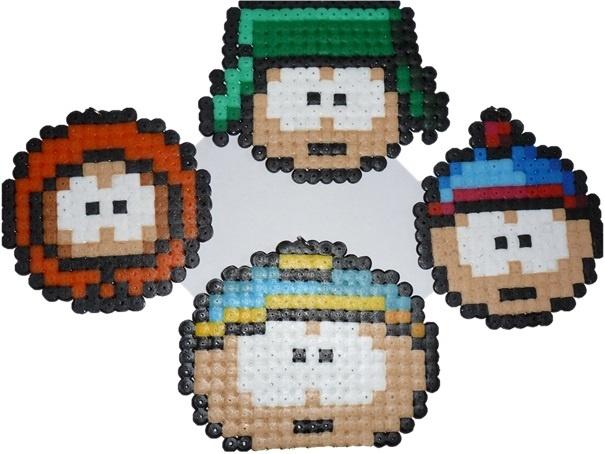 South Park hama beads by lune-de-cristal