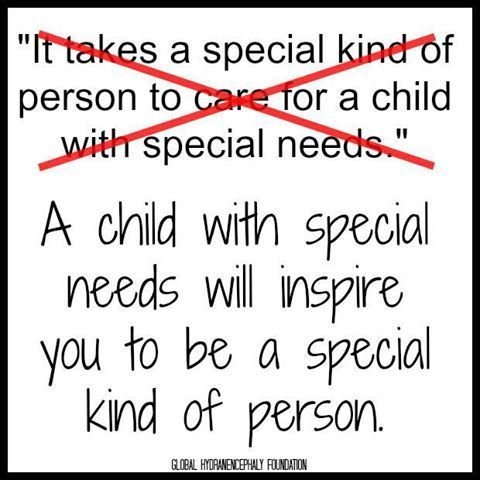 as a special education teacher, people tell me I must be a special kind of person to do what I do… but this says it all