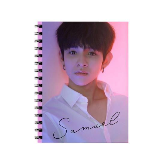 Kim Samuel 사무엘 Spiral Notebook buy here https://tees.co.id/spiral-notebook-kim-samuel-479603?model=spiral-notebook