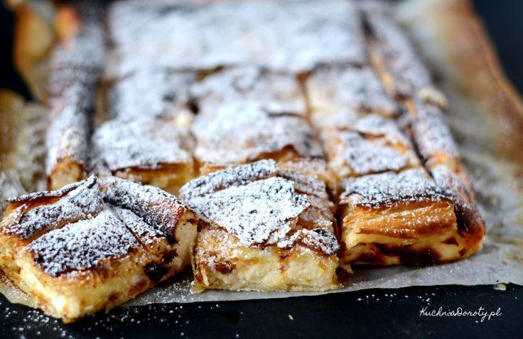 Francuskie ciasto serowe