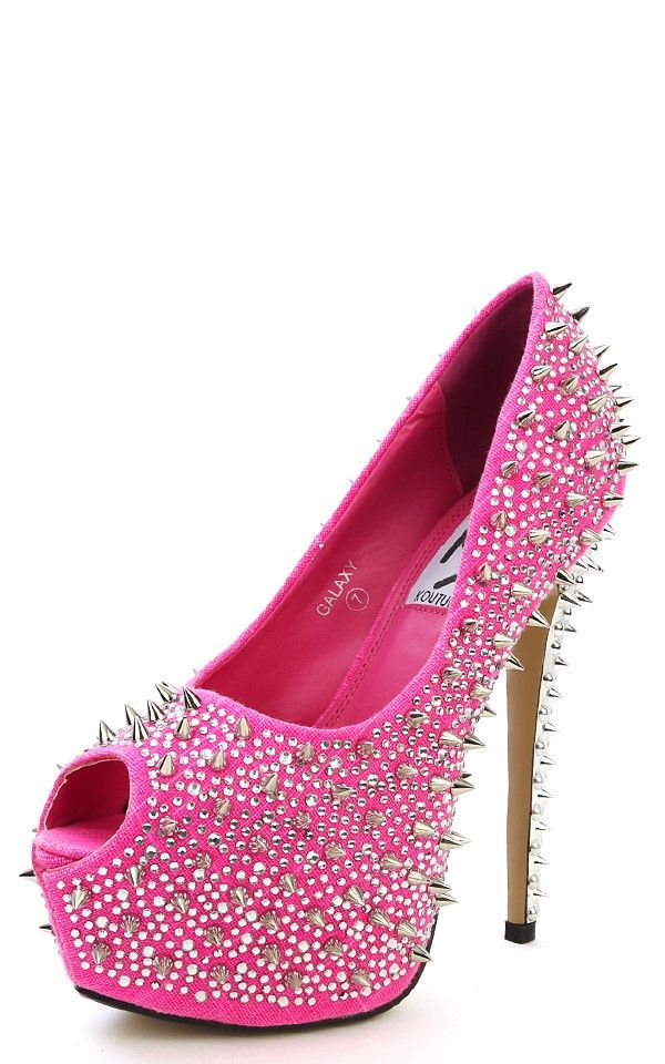 1000  images about Make Me Studs &amp Spikes Chic on Pinterest | Pump