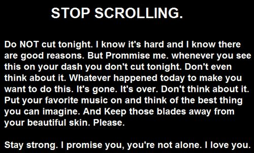 cutting and self harm how to feel better without