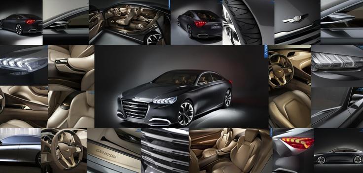 Hyundai HCD-14 Genesis: un concept car plin de contraste  http://www.automotoblog.ro/categorii/concept-cars/2013-hyundai-hcd-14-concept-car/