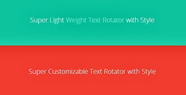 Males Code: JQuery Text Rotator