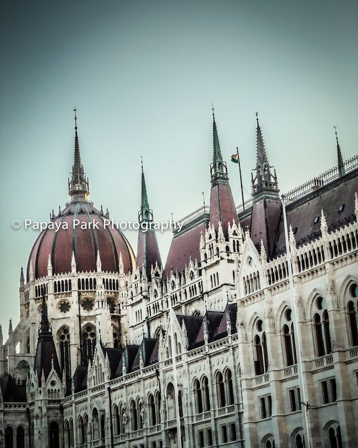 The House of Parliament in Budapest, Hungary.