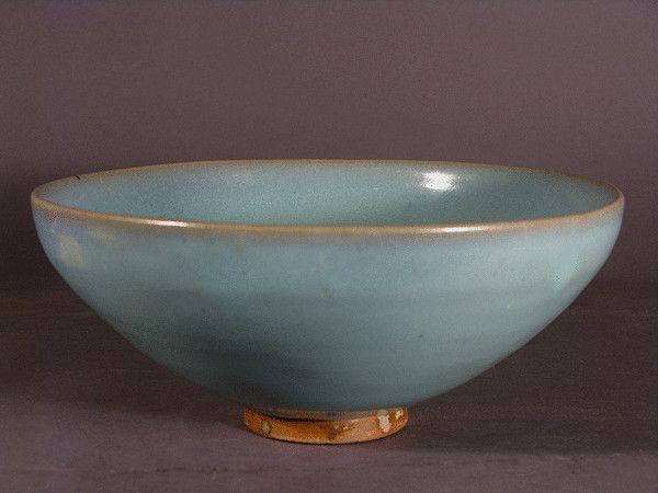 A large Junyao bowl, Song Dynasty (960 to 1127 China)