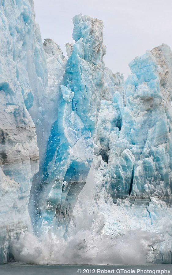 Hubbard Glacier (Alaska) calving…one of the most amazing things I've seen, done or heard.