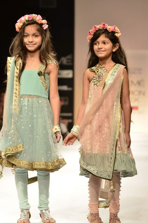 for the love of anarkali  pink, blue, children::-)  aww