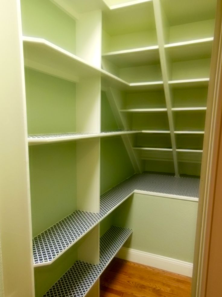 My Remodeled Pantry, Under The Stairs . Went From 23 Inches To Almost 11  Feet!