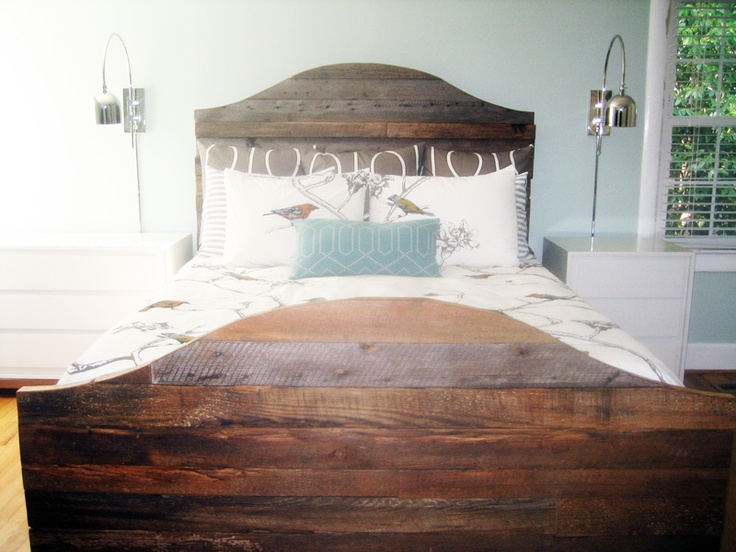 reclaimed wood bed frame luke make this for me purdy please visit