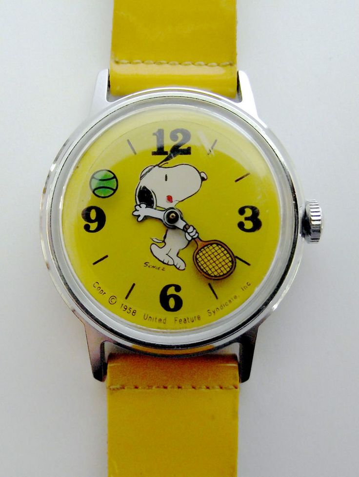 21 best images about watches on pinterest patent leather vintage and originals for Snoopy watches