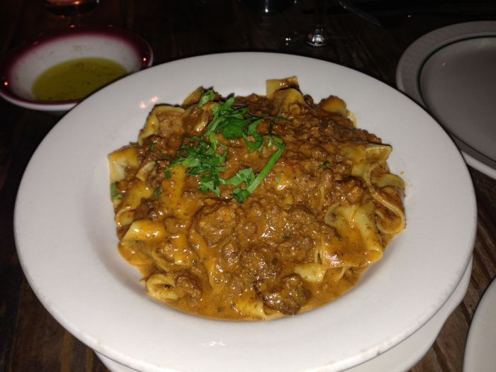 NYC Best Pasta Dishes incl. the fantastic PAPPARDELLE ALLA BOLOGNESE at #Sfloglia. #NYC #Restaurant #Best #Pasta #Food #Cuisine #NewYork #Dining #UpperEastSide #food&drink