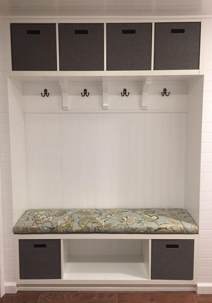 Best 25 ikea mudroom ideas ideas on pinterest ikea for Ikea shelf bench hack