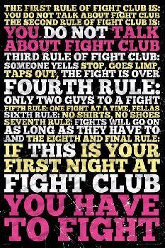 Affiche du film Fight Club