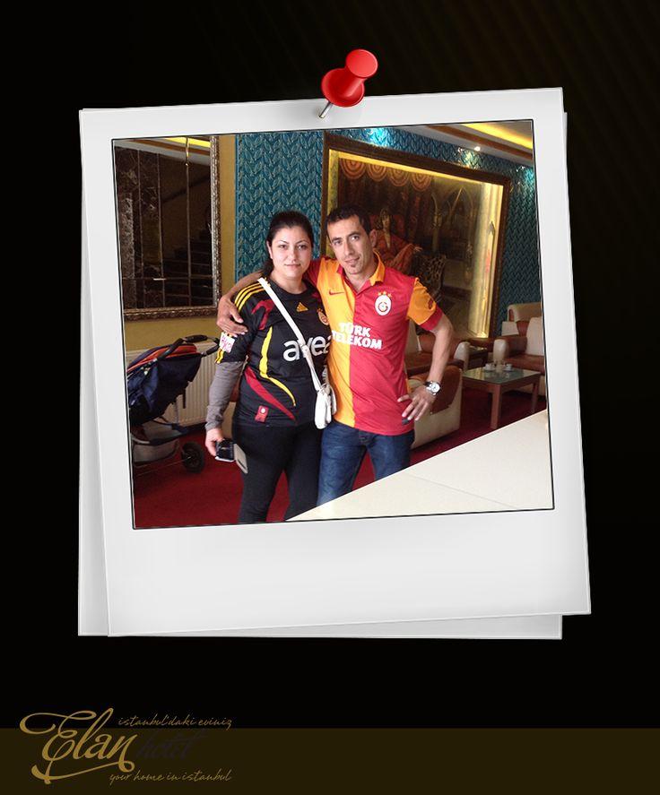 Sevgili Hüseyin Yaralıoğlu ve Eşi'ne bizlerle paylaştıkları bu güzel anıları için teşekkürler :)) #elanhotelistanbul #misafirlerimiz #ziyaretçilerimiz #istanbul
