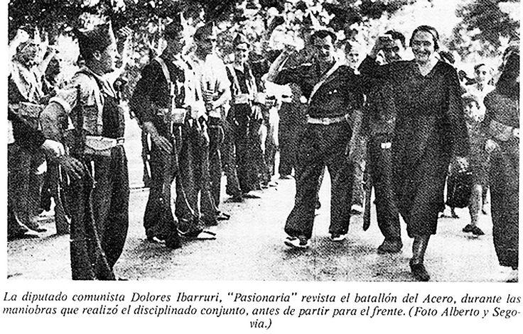 Spain - 1936. - GC - la Pasionaria - Dolores Ibarruri