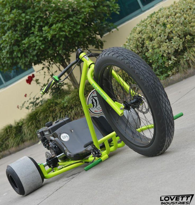 how to build drift trike wheels