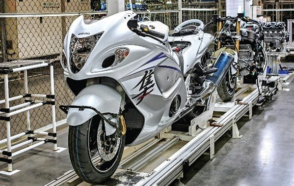 The Hayabusa is inexpensive than several litre-class superbikes in India after the commencement of nearby assembly.