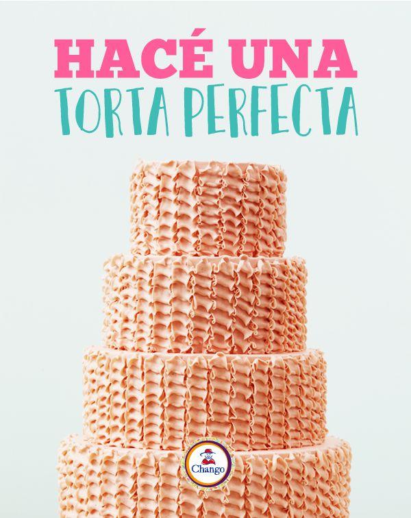 ¡Seguí estos sencillos 5 pasos para obtener una torta perfecta!  http://buff.ly/2jxMaWE