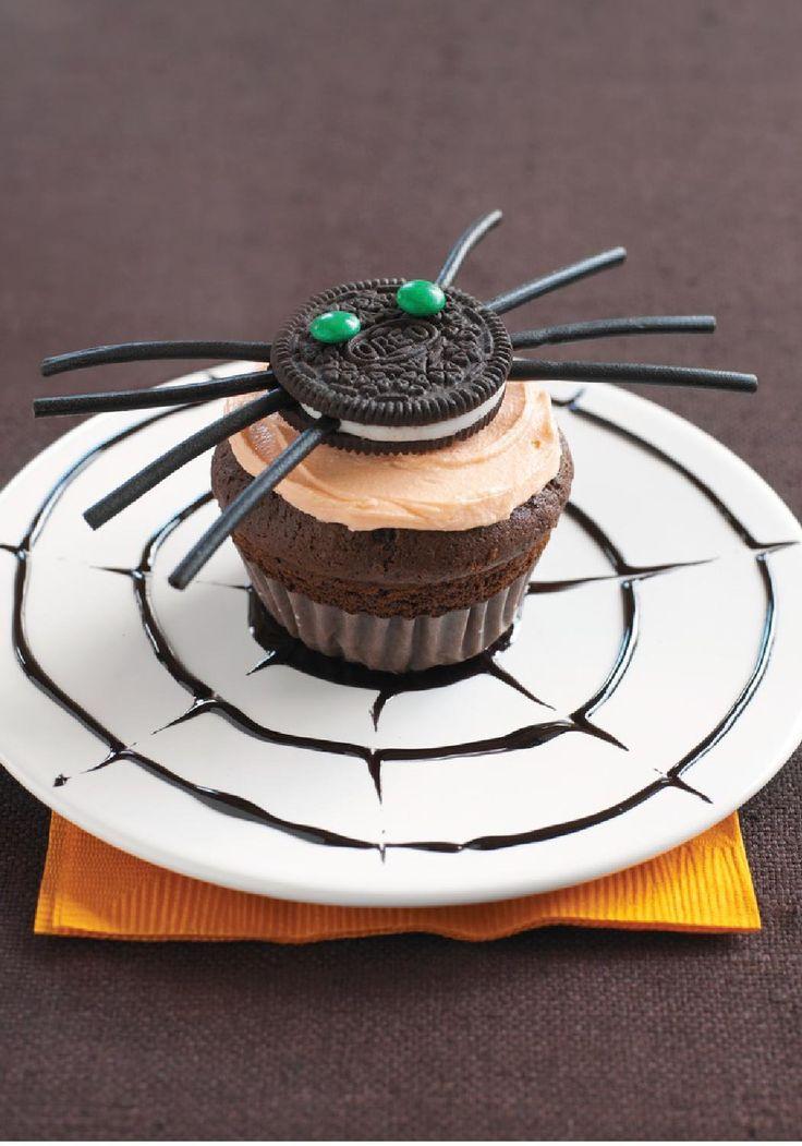 Chocolate Licorice Cupcakes