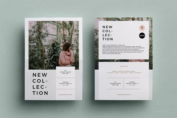 Event Flyer by Moscovita on Creative Market