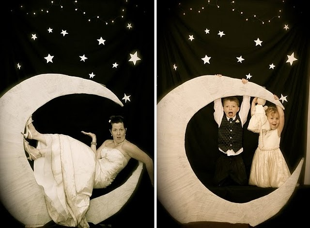 [Moon & Stars] thinking old hollywood glam party (and I feel like I'd do the same thing as that lady.. Classy haha)
