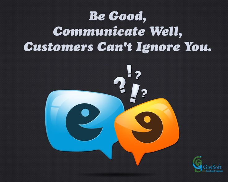 Communication is important for eCommerce..!!