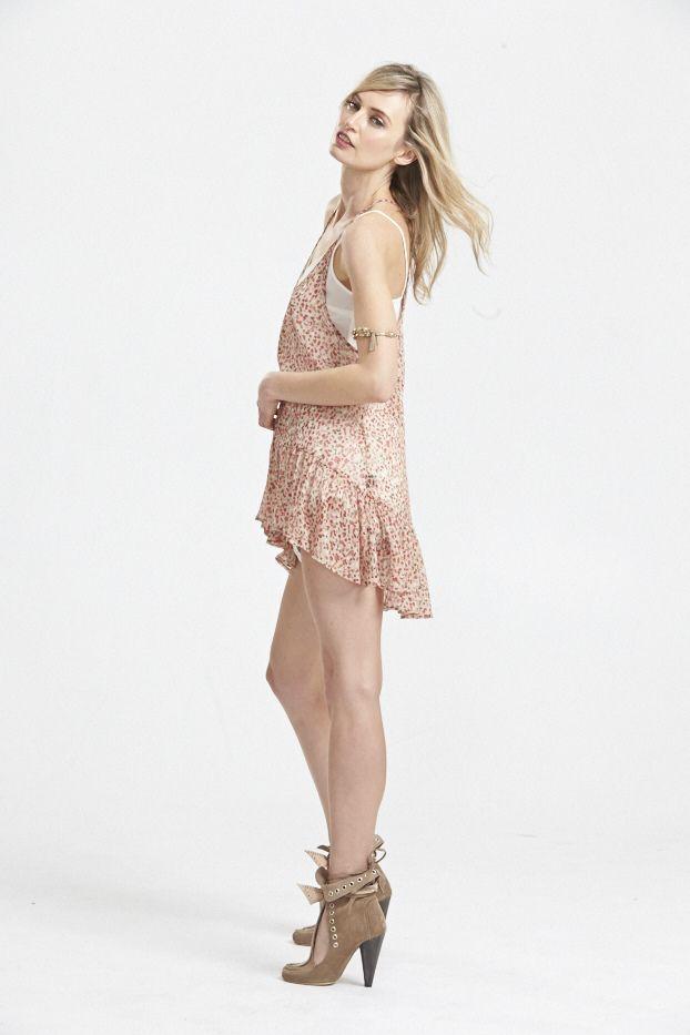 Flutterbaby Silk Slip Dress. www.hideseekers.com