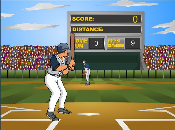Master your baseball reactions and timing and become the homerun champion!