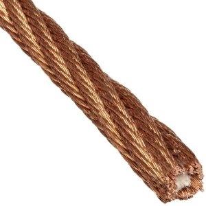 Bronze Wire Rope 6x42 Fiber Core Bronze Fiber Rope