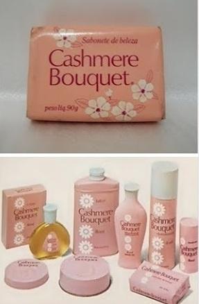 É da sua época?: [1980] Produtos Cashmere Bouquet