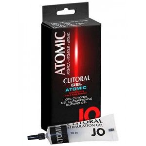 JO CLITORAL GEL ATOMIC, satisfying warming and cooling tingling