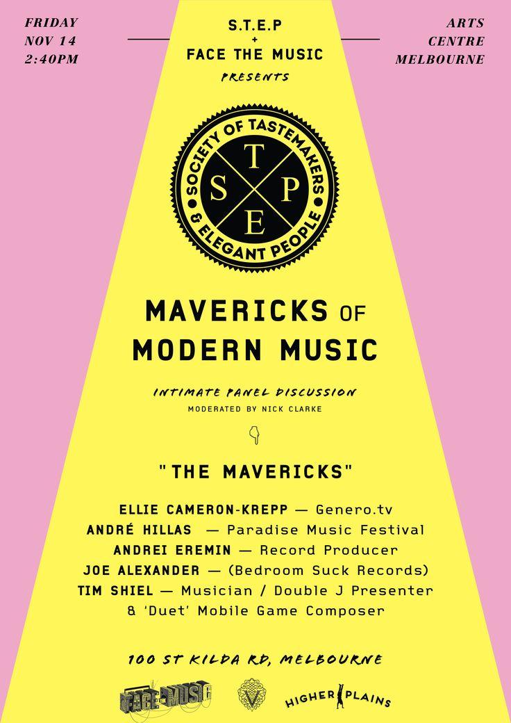 STEP - 'Mavericks of Modern Music'
