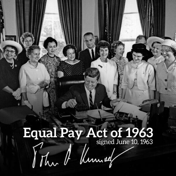 Equal Pay Act of 1963 & Cases Essay