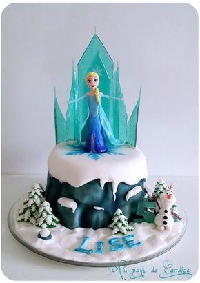 Gâteau Reine des Neiges - Tutoriel Frozen cake Tutorial http://paysdecandice.canalblog.com/archives/2015/05/01/31978760.html