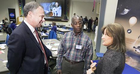 Sen. Kaine and Director Roe Offer Encouragement to Virginia Teachers